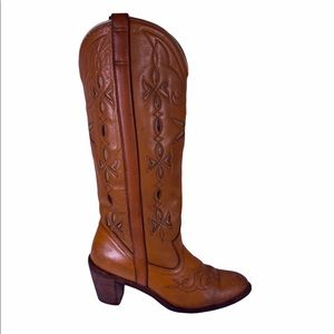 Dingo Leather Slip On Boots